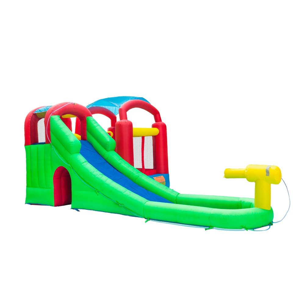 ATI Inflatable Moonwalk Water Slide Pool Bounce House Jumper Bouncer Castle