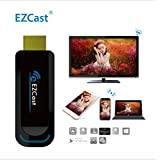EZCast DLNA Airplay Miracast WiFi Display Dongle Receiver, HDMI 1080P TV Stick for Streaming Video, Web Surfing, Photo Viewer, Live Camera Sharing