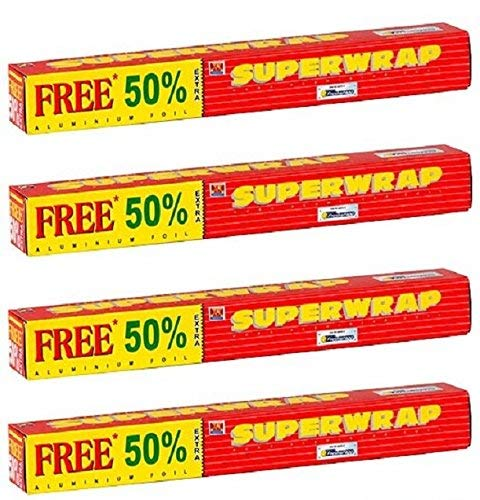 Superwrap Hindalco Aluminium Foil (Pack of 4)