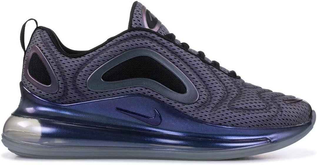 Nike , Baskets pour Homme Metallic Silver, Black - Violet ...