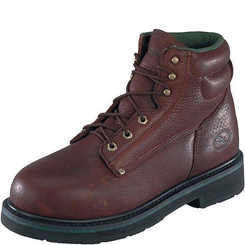 Florsheim Work Men's FE665 Steel-Toed Work Boot,Brown Walnut,11 D US by Florsheim