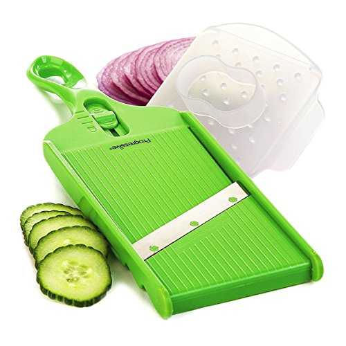 NEW Prepworks Progressive Adjustable Slicer Kitchen Hand Mandolin Blade Vegetables