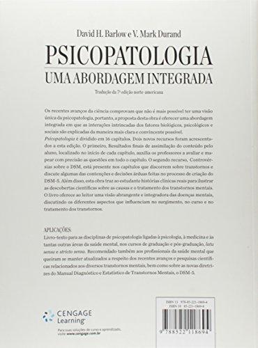 Psicopatologia. Uma Abordagem Integrada