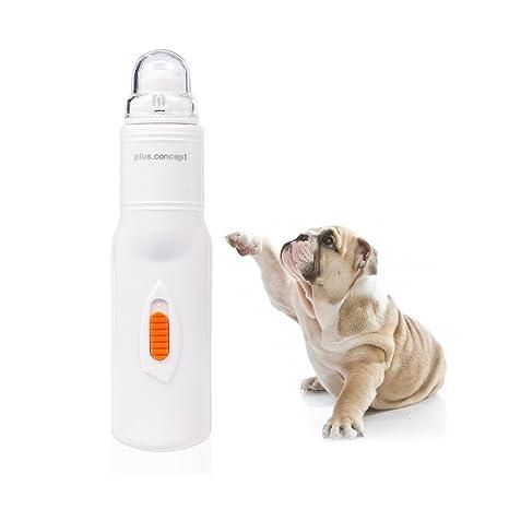 Petacc Lima de uñas eléctrica para mascotas, apta para perros, gatos, super silencioso