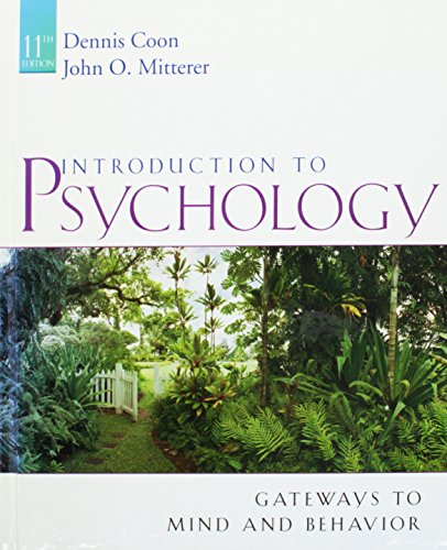 Gateways to Psychology (Concept Maps and Concept Reviews)