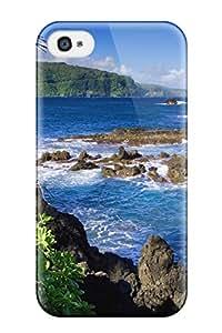 David R. Spalding's Shop Best Iphone 4/4s Hawaii Print High Quality Tpu Gel Frame Case Cover