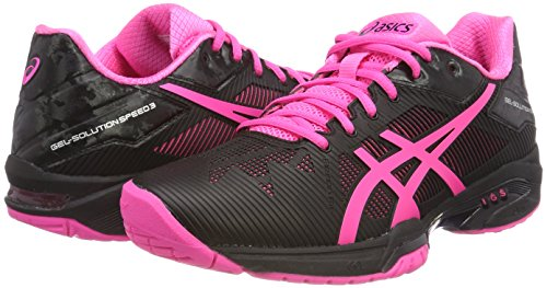 Chaussures Tennis De 3 Hot Asics Multicolore solution Gel Femmes Pinksilver Speed Pour black qwqF1Ufxr