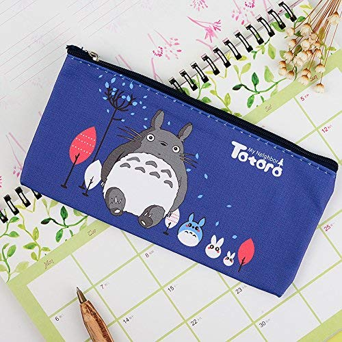 Paper Bagbag - MAOFU Comfortable Support Pillow Relief Pillow Korea Creative Stationery Cartoon Lovely Stationery Pen Bags Pouch Bills Bag Pen Bags B6 Paper Bag-Bag, Dark Blue 4020 Cats