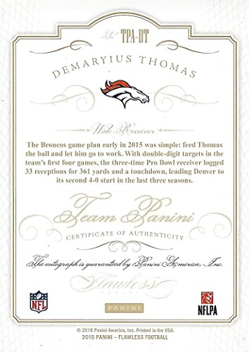 Demaryius thomas autograph card