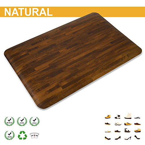 casa pura anti fatigue mat standing kitchen comfort mat 3 4 thick 20 x39 1 39 6 x 3 39 2. Black Bedroom Furniture Sets. Home Design Ideas