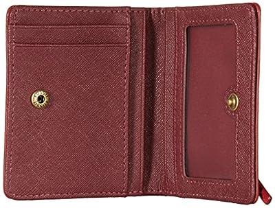 Fossil Emma Rfid Mini Wallet Red Velvet Wallet