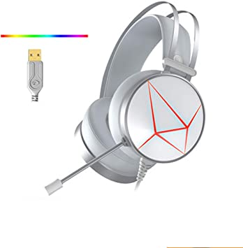 Gaming Headset with Mic para PC, PS4, Xbox One, para Xbox One PS4 ...