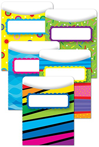 Creative Teaching Press Poppin' Patterns Library Pockets (6918)