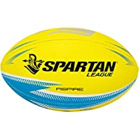 Spartan Aspire Rugby League Ball, Yellow, Size 5