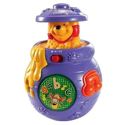 amazon com winnie the pooh pop up honey pot toys games