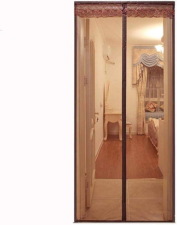Adsorption magn/étique Pliable Lair Peut circuler Librement Rideau/magn/étique/pour/Portes Blanc CHENG Magn/étique Moustiquaire Porte Rideau 35x55cm for Couloirs//Portes//Patio