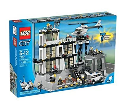 Amazoncom Lego City Police Station Toys Games