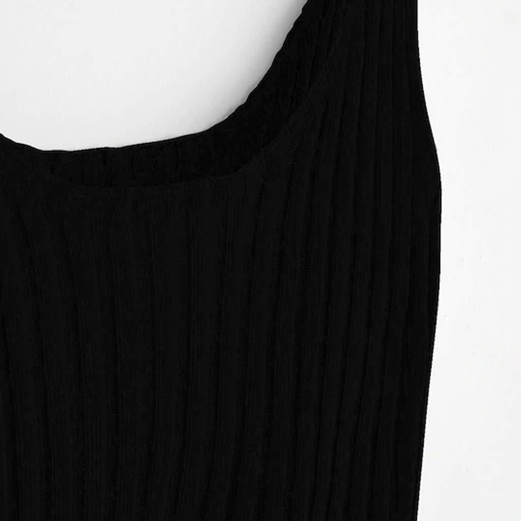 JIAJU-DJ Women Summer Cold Shoulder Blouse Strapless Vest Sleeveless Tank Top