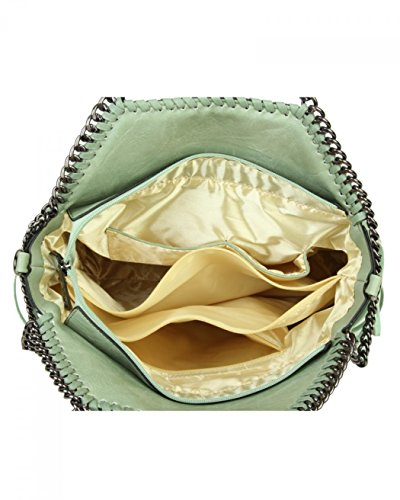Handbags Bags Women's Qualiy Grab For BAG Women Handbag For TASSEL LeahWard WHITE Chain Shoulder 690 Holiday Trim qEzCESw