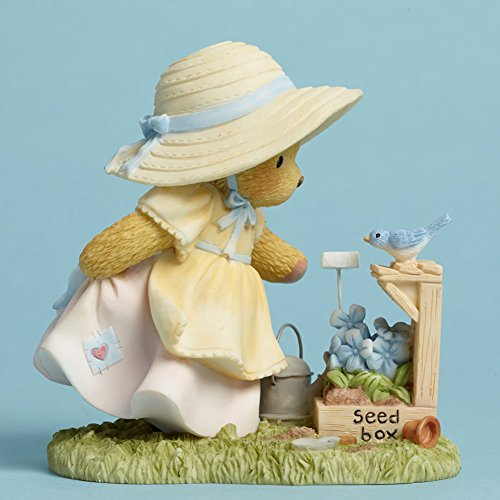 Cherished Teddies 4045932 Plant With Love, Watch Wonders Grow April 2015