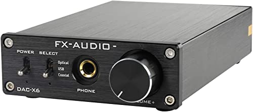 FX-Audio DAC-X6 Mini HiFi 2.0 Digital Audio Decoder DAC