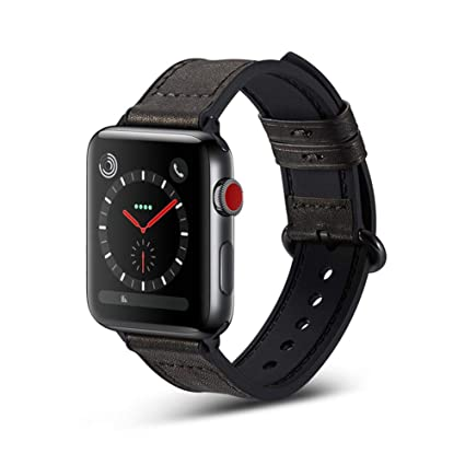 Biback Band para Apple Watch Serie 3/2/1 Reloj Inteligente con Correa de
