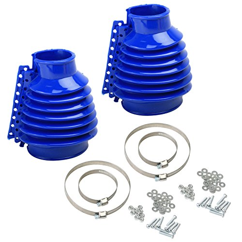 Empi 00-9970-0 VW Bug, Beetle, Baja, Buggy, Type 1 Swing Axle Boot - Blue, Pair