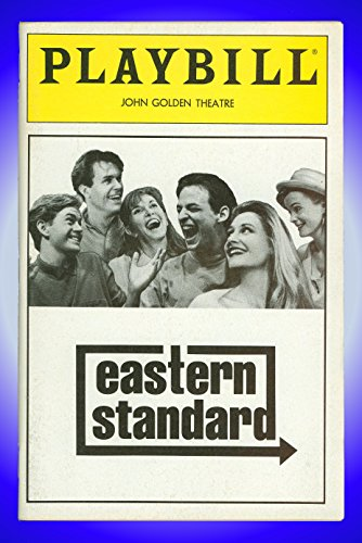 Eastern Guideline, Broadway Playbill + Anne Meara, Barbara Garrick, Peter Frechette, Dylan Baker, Kevin Conroy, Patricia Clarkson
