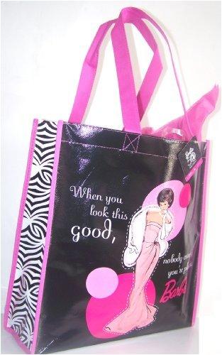 Barbie 50th Fiftieth Anniversary Collectible Shopper Tote Gift Bag