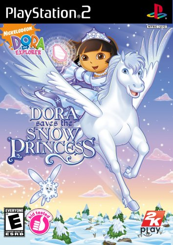 Dora the Explorer: Dora Saves the Snow Princess - PlayStation 2 (Snow Playstation Princess)