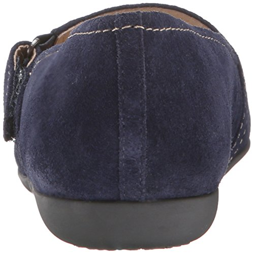 Jane Simmy Suede Navy Flat Mary Trotters Women's a8wqBxUUF