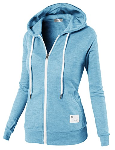Zip Hoodie Sweatshirt Jacket - 9