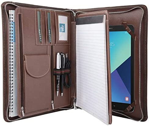 Crazy Horse Multi Function Business Document Organizer
