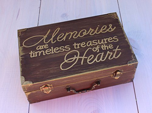 Memory Box Keepsake Box for Adults, Children, Wedding Gift, Birthday Gift, Baby Shower Gift, Mothers Day, Fathers Day
