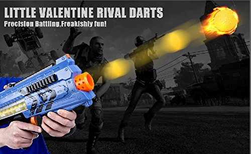 Little Valentine [200 Rounds] Nerf Rival Compatible Ammo Bulk Yellow Foam Bullet Ball Replacement Refill Pack for Nerf Rival Blasters (HIR, High-Impact Rounds - Yellow)
