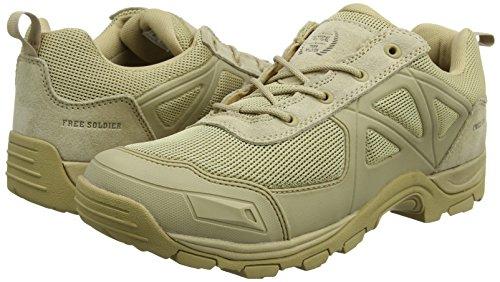 Camping Zapatos Senderismo Antideslizante Off Desierto Zapatos Rápido FREE Sand Road Montaña SOLDIER Tactical Todo Color Terreno wRnqSf