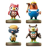 Japanesse Amiibos Celeste, Kicks, Resetti, and Fuka! by Nintendo