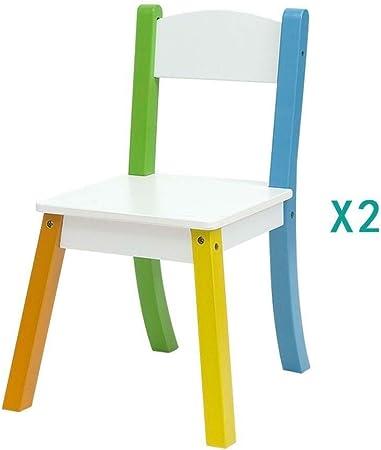 Mesa de estudio de los niños Tabla heces niño mesas sillas infantiles del bebé de madera
