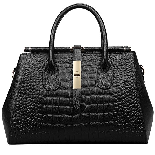 Crocodile Leather Bag: Amazon.com