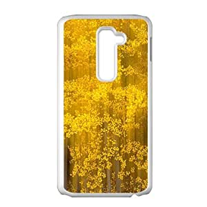 Golden tree pattern lovely phone case for LG G2