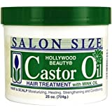 Hollywood Beauty Beauty Castor Oil, 25 oz