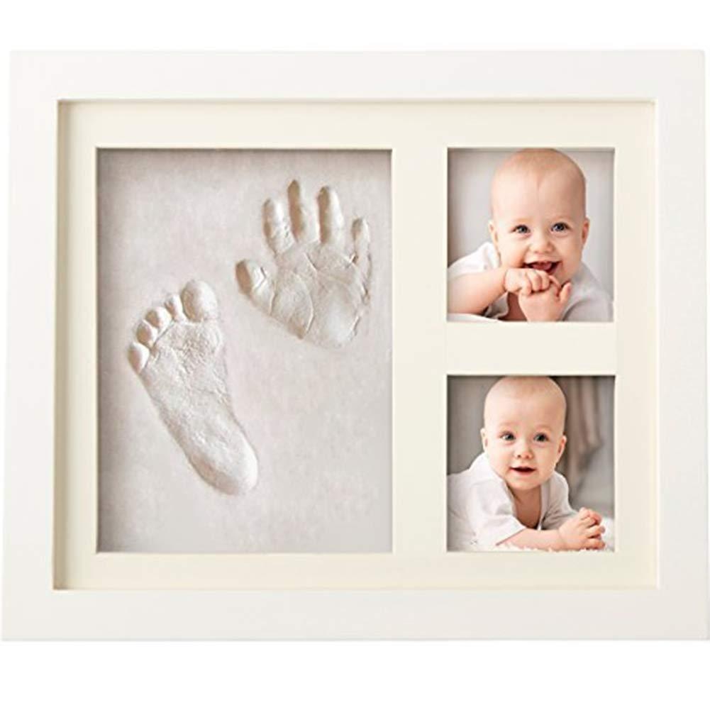 Ankamal Elec Baby cadeau main et pied moule main et pied empreinte. Le bébé est utilisé pour l'enregistrement du baptême, pour le souvenir inoubliable du kit d'empreinte pour bébé TJ HLD