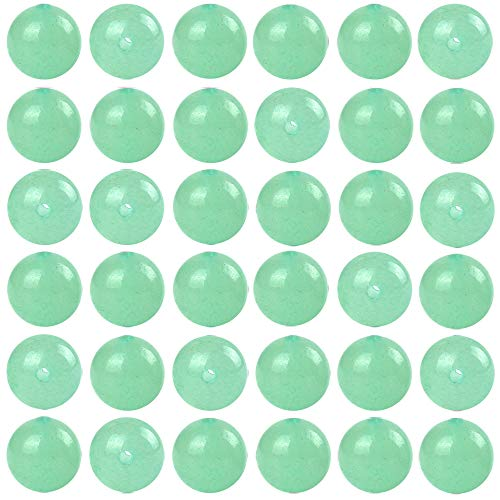Natural Stone Beads 100pcs 8mm Green Aventurine Round Genuine Real Stone Beading Loose Gemstone Hole Size 1mm DIY Charm Smooth Beads for Bracelet Necklace Earrings Jewelry Making (Green Aventurine)