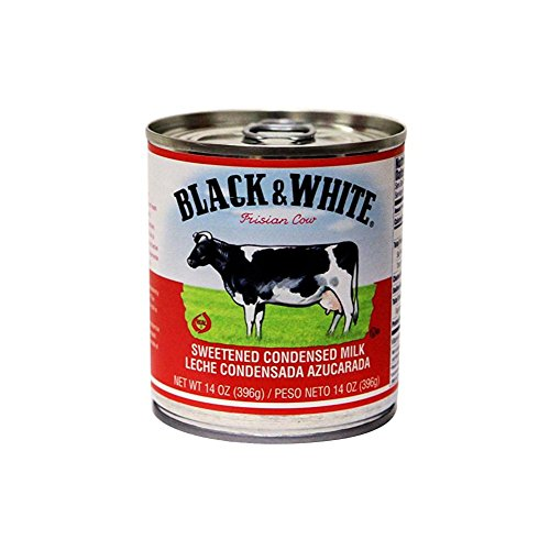 Amazon.com : Black & White sweetened condensed milk 14 oz (pack of 4) : Grocery & Gourmet Food