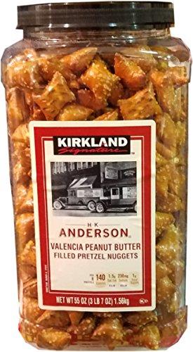 Kirkland Signature Peanut Butter Pretzels, 55 oz ()