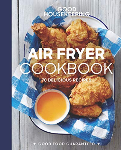 Book cover from Good Housekeeping Air Fryer Cookbook: 70 Delicious Recipes (Good Food Guaranteed) by Susan Westmoreland