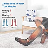RENPHO Leg Massager with Heat, Compression Calf
