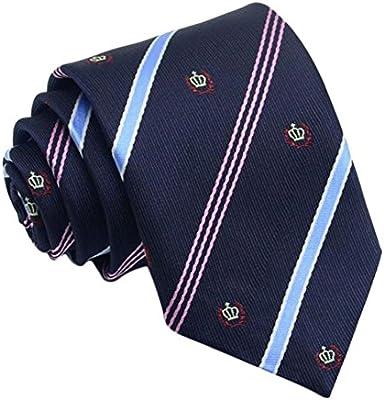Scrox 1pcs Moda Caballero Hombre Corbata Corbata Seda poliéster ...