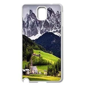 Samsung Galaxy Note 3 Cases, Swiss Alps Girls Cases for Samsung Galaxy Note 3 {White}
