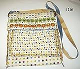 Multicolored polka dotted purse #5 205/1216